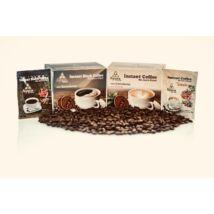 32 doboz Ayura Ganodermás Black Coffee vagy Cappuccino + 15 doboz AJÁNDÉK