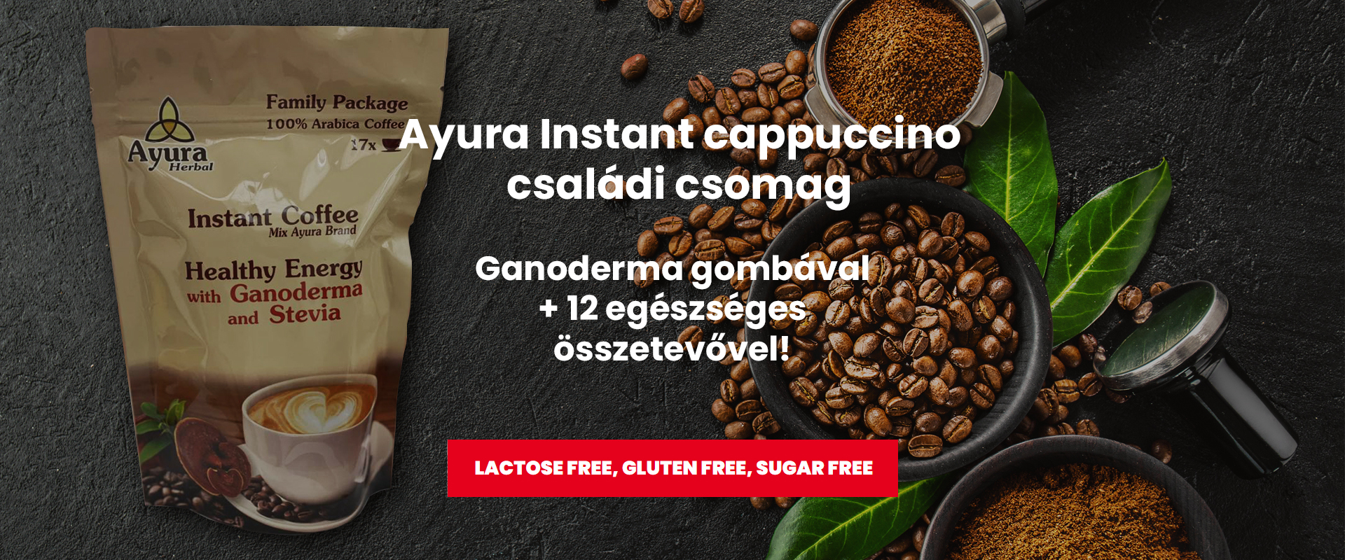 Ayura Cappuccino Családi csomagok